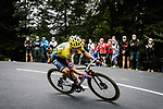 Colombian Champion Sergio Andres Higuita (COL) EF Pro Cycling descends during Stage 9 of Tour de France 2020, running 153km from Pau to Laruns, France. 6th September 2020. <br /> Picture: ASO/Pauline Ballet   Cyclefile<br /> All photos usage must carry mandatory copyright credit (© Cyclefile   ASO/Pauline Ballet)