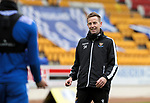 St Johnstone Training...14.05.21<br />Coach Steven MacLean talking with Shuan Rooney during training at McDiarmid Park this morning ahead of tomorrows final league game of the season against Livingston.<br />Picture by Graeme Hart.<br />Copyright Perthshire Picture Agency<br />Tel: 01738 623350  Mobile: 07990 594431