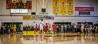 8 January 2020: The University of Vermont Catamounts watch a possible game-typing shot, with less than 3 seconds to play against the Stony Brook University Seawolves at Patrick Gymnasium in Burlington, Vermont. The Seawolves defeated the Catamounts 81-77 in a closely fought game. Mandatory Credit: Ed Wolfstein Photo *** RAW (NEF) Image File Available ***