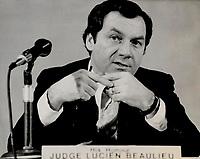 Lucien Beaulieu, judge