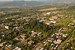 Aerial View of University of Oregon in Eugene