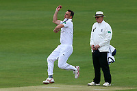 Kyle Abbott in bowling action for Hampshire during Essex CCC vs Hampshire CCC, Specsavers County Championship Division 1 Cricket at The Cloudfm County Ground on 20th May 2017