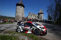 24th April 2021; Zagreb, Croatia; WRC Rally of Croatia, stages 9-16; Elfyn Evans -Toyota Yaris WRC