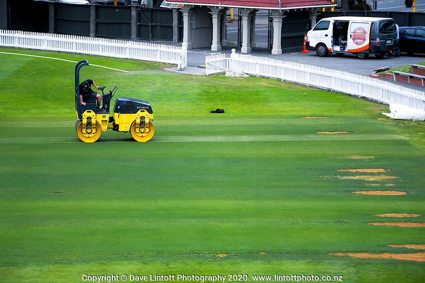 NZ Cricket Museum renovation at Basin Reserve in Wellington, New Zealand on Thursday, 9 January 2020. Photo: Dave Lintott / lintottphoto.co.nz