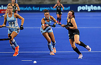 Kelsey Smith during the Pro League Hockey match between the Blacksticks women and Argentina, Nga Punawai, Christchurch, New Zealand, Friday 28 February 2020. Photo: Simon Watts/www.bwmedia.co.nz