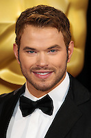 HOLLYWOOD, LOS ANGELES, CA, USA - MARCH 02: Kellan Lutz at the 86th Annual Academy Awards held at Dolby Theatre on March 2, 2014 in Hollywood, Los Angeles, California, United States. (Photo by Xavier Collin/Celebrity Monitor)
