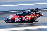 Nov 1, 2020; Las Vegas, Nevada, USA; NHRA funny car driver Alexis DeJoria during the NHRA Finals at The Strip at Las Vegas Motor Speedway. Mandatory Credit: Mark J. Rebilas-USA TODAY Sports