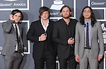 Kings of Leon at The 52nd Annual GRAMMY Awards held at The Staples Center in Los Angeles, California on January 31,2010                                                                   Copyright 2009  DVS / RockinExposures