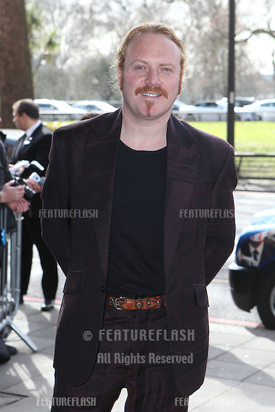 Leigh Francis arriving for the 2015 TRIC Awards, at the Grosvenor House Hotel, London. 10/03/2015 Picture by: Alexandra Glen / Featureflash