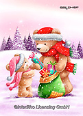 Roger, CHRISTMAS ANIMALS, WEIHNACHTEN TIERE, NAVIDAD ANIMALES, paintings+++++,GBRM19-0097,#xa#