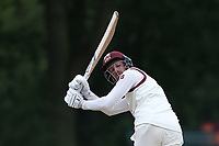 E Ballard in batting action for Brentwood during Wanstead and Snaresbrook CC (fielding) vs Brentwood CC, Hamro Foundation Essex League Cricket at Overton Drive on 19th June 2021
