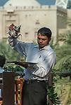 Pouring tea at Souk Madinat Jumeirah, Dubai, United Arab Emirates