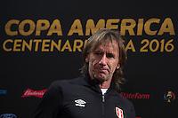 Copa America, Peru (PER) Press Conference, June 16, 2016