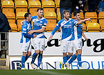 St Johnstone v Inverness Caley Thistle…03.12.16   McDiarmid Park..     SPFL<br />Liam Craig celebrates his goal with Danny Swanson, David Wotherspoon and Michael Coulson<br />Picture by Graeme Hart.<br />Copyright Perthshire Picture Agency<br />Tel: 01738 623350  Mobile: 07990 594431