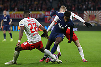Nordi Mukiele of RB Leipzig and Ryan Sessegnon of Tottenham Hotspur during RB Leipzig vs Tottenham Hotspur, UEFA Champions League Football at the Red Bull Arena on 10th March 2020