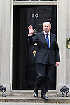 © Joel Goodman - 07973 332324 . 11/05/2015 . London , UK . IAIN DUNCAN SMITH leaves 10 Downing Street this afternoon (11th May 2015) . Photo credit : Joel Goodman