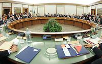 Panoramica dell aula.CSM - Consiglio Superiore della Magistratura (Plenum) .Nomina del Vice Presidente.Roma, 2 Agosto 2010.Photo Serena Cremaschi Insidefoto