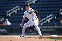 Scranton/Wilkes-Barre RailRiders relief pitcher Nick Nelson (26) in action against the Rochester Red Wings at PNC Field on July 25, 2021 in Moosic, Pennsylvania. (Brian Westerholt/Four Seam Images)