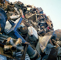 File Photo - metal dump