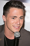 "The actor Colton Haynes attends the fan event of the tv shows ARROW and THE 100, at the ""ATRESMEDIA CAFE""   in Madrid, Spain. Jun 9, 2014. (ALTERPHOTOS/Carlos Dafonte)"