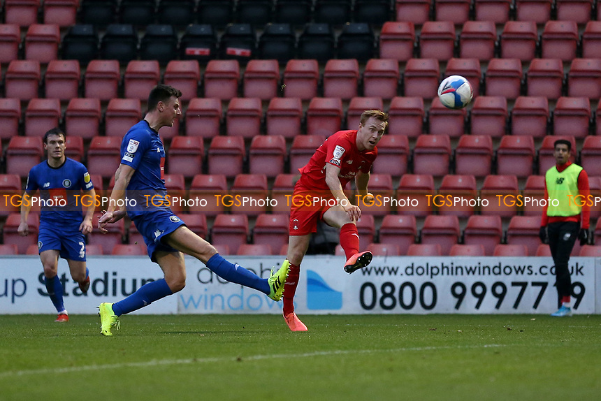 Danny Johnson of Leyton Orient scores the second goal for his team during Leyton Orient vs Harrogate Town, Sky Bet EFL League 2 Football at The Breyer Group Stadium on 21st November 2020
