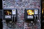 Verona Italy Casa di Giulietta  Lovers Graffiti messages on a door in the small square where Romeo serenaded Juliet