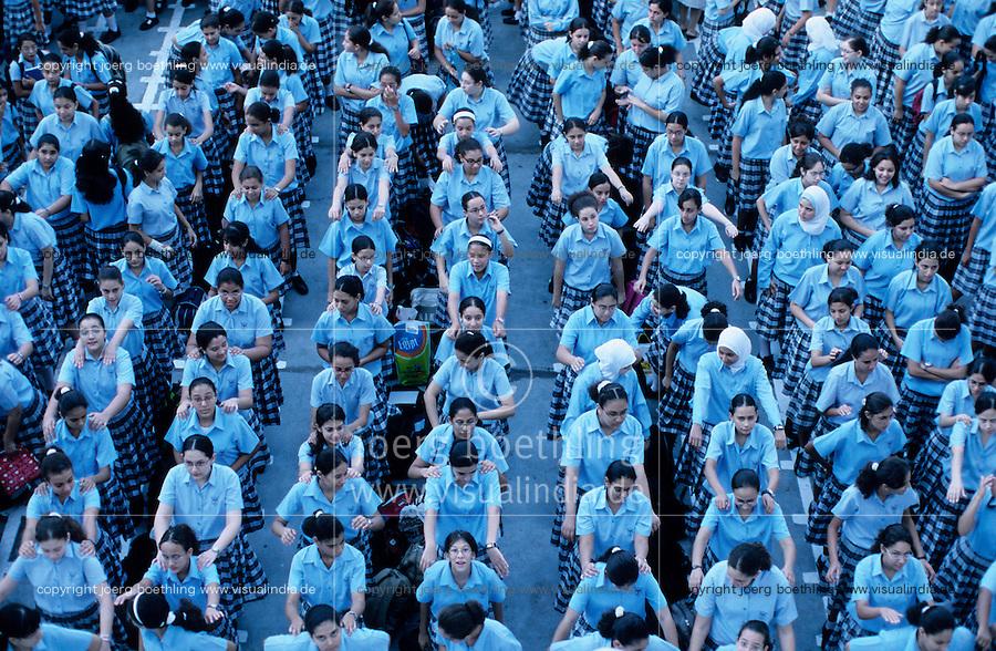 Aegypten Kairo Cairo , Schule der katholischen Kirche fuer christliche und muslimische Kinder in Heliopolis / EGYPT Cairo , school for christian and muslim children, run by the catholic church