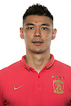 Zeng Cheng of Guangzhou Evergrande poses for the official photo prior to the Guangzhou Evergrande vs Gamba Osaka match as part the AFC Champions League 2015 Semi Final 1st Leg match on September 29, 2015 at  Tianhe Sport Center in Guangzhou, China. Photo by Aitor Alcalde / Power Sport Images