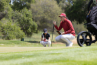 STANFORD, CA - APRIL 24: Allisen Corpuz at Stanford Golf Course on April 24, 2021 in Stanford, California.