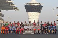 2010 V8 Supercar Driver photo at the inaugural Yas V8 400, Yas Marina Circuit, Abu Dhabi.  <br /> <br /> Etihad fly direct to Abu Dhabi from Melbourne & Sydney