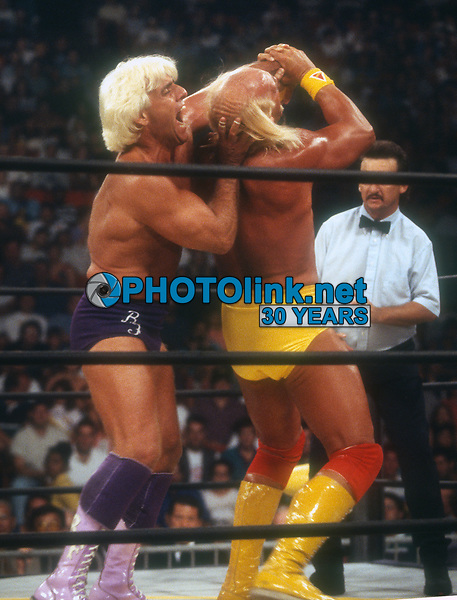Ric Flair Hulk Hogan, 1994 Photo By John Barrett/PHOTOlink