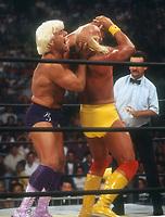 Ric Flair Hulk Hogan, 1994 Photo By John Barrett/PHOTOlink