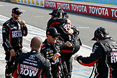 Monster Energy NASCAR Cup Series<br /> I LOVE NEW YORK 355 at The Glen<br /> Watkins Glen International, Watkins Glen, NY USA<br /> Sunday 6 August 2017<br /> Martin Truex Jr, Furniture Row Racing, Furniture Row/Denver Mattress Toyota Camry crew members celebrate the win<br /> World Copyright: Russell LaBounty<br /> LAT Images