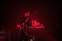 SAO PAULO, SP, 01.07.2017- SHOW-SP - A banda carioca Barão Vermelho durante apresentação com o novo vocalista, Maurício Suricato no Tom Brasil , zona sul da capital paulista, na noite deste sábado, 01. (Foto: Rogério Gomes/Brazil Photo Press)
