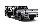 Car images close up view of a 2018 Toyota Tundra SR5 5.7L Crew Max 4WD Short Bed 4 Door Pick Up doors