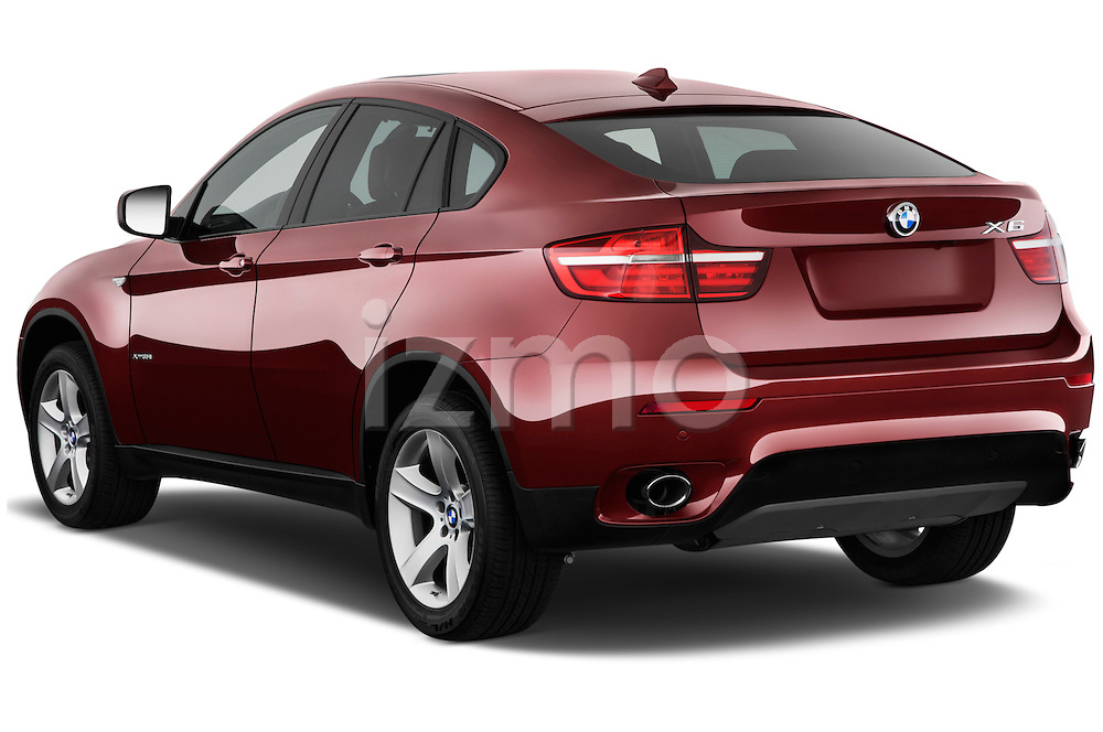 Rear three quarter view of a 2013 BMW X6 X Drive 35i