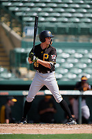 Pittsburgh Pirates right fielder Conner Uselton (48) at bat during a Florida Instructional League game against the Baltimore Orioles on September 22, 2018 at Ed Smith Stadium in Sarasota, Florida.  (Mike Janes/Four Seam Images)