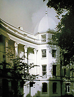 Sussex Place, designed by John Nash, 1822-23. Originally 26 houses designed by Nash and built by William Smith.