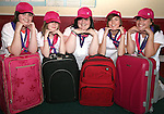 Girl Guides Pack for Paris Trip