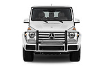 Car photography straight front view of a 2018 Mercedes Benz G-Class G550 5 Door SUV Front View