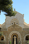 Israel, Jerusalem, the Basilica of St. Etienne (St. Stephen) was built between 1891 and 1901, within is Ecole Biblique school of biblical archeology