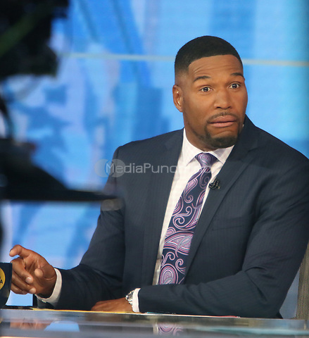 Aprl 06, 2021. Michael  Strahan at Good Morning America in New York April 06, 2021 Credit:RW/MediaPunch