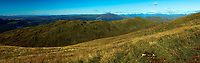 Ben Venue and the Arrochar Alps from Ben Ledi, Loch Lomond and the Trossachs National Park, Stirlingshire