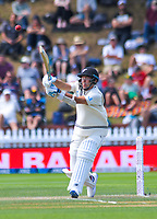 NZ's Trent Boult bats during day three of the International Test Cricket match between the New Zealand Black Caps and India at the Basin Reserve in Wellington, New Zealand on Sunday, 23 February 2020. Photo: Dave Lintott / lintottphoto.co.nz