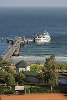Seebrücke im Ostseebad Göhren auf Rügen, Mecklenburg-Vorpommern, Deutschland