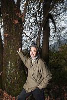 Carlo Scheggia, forest ranger, Novaggio