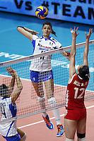 Cristina Chirichella  <br /> Milano 11-10-2014 Forum Assago Mondiali <br /> Volley Women's World Championship Italy 2014 <br /> Italia <br /> Foto Insidefoto