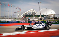 26th September 2020, Sochi, Russia; FIA Formula One Grand Prix of Russia, qualification;  10 Pierre Gasly FRA, Scuderia AlphaTauri Honda