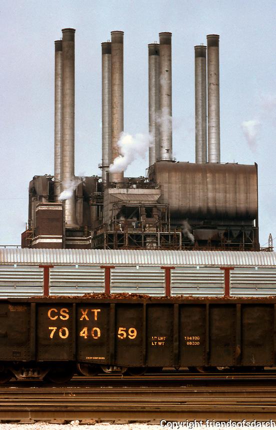Albert Kahn: Detroit. Ford Works, River Rouge Plant.  Photo '97.