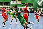 23Doruk Pehlivan, n14Markus Stegefelt beim Spiel in der Handball Bundesliga, TSV GWD Minden - HSG Nordhorn-Lingen.<br /> <br /> Foto © PIX-Sportfotos *** Foto ist honorarpflichtig! *** Auf Anfrage in hoeherer Qualitaet/Aufloesung. Belegexemplar erbeten. Veroeffentlichung ausschliesslich fuer journalistisch-publizistische Zwecke. For editorial use only.